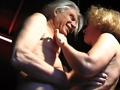 Nothing Pleases This Granny Like The Perverse Adventures With Her Man