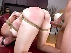 Pierced Smooth-shaven Slit Of Lewd Whore Ashley Lane Is Fucked Rear End Hard Enough