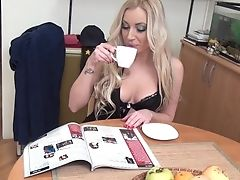 Aleksandra Is A Real Beauty And It's A Joys Eyeing Her Masturbate!