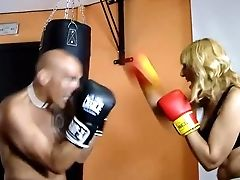 Matures Blonde With Big Tits Loves It Rough