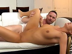 Pretty Blonde Emily Austin Getting Bonked In Each Of The Positions