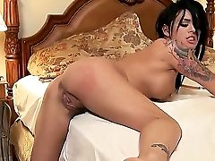 Hard-core And Awesome Fuck With A Spunky Brown-haired Named Eva Angelina And Johnny Sins