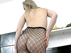 Gorgeous Nubile Blondie Layla Is Demonstrating Her Sweet Slender Gams While Wearing An Sweet Pantyhose And Her High Heeled Footwear. Love The Hot Posi