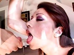 Big Eyed Woman Coco Velvett Is A Stiffy Greedy And