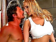 Huge-chested Alanah Rae Gets Her Taut Beaver And Caboose Drilled Hard By Masculine Tommy Gunn