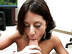 Dark-haired Lyla Storm With Phat Culo Believes That Fresh Spunk Gives Her Sexual Energy To Spend
