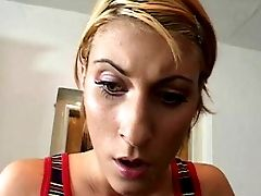 Adorable Stunner Fucks Her Landlord So He Will Fix Her Room