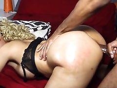 Taking It In Her Bum Behind The Scenes