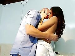 Ariella Ferrera And Johnny Sins Are Having A Good Porm Role Have Fun Together