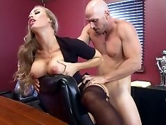 Premium Encounter With Man Meat While At Work For Nicole Aniston