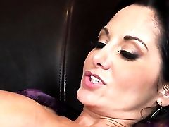 Ava Addams Wiggles Her Large Bosoms