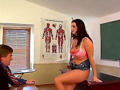 Beautiful Student Chick Alison Tyler Is Having An Amazing Lesson With Her Old Perverted Lecturer Kyle Stone, That Sure Has Something To Instruct His S