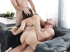 Hot Nubile Michelle Can Gets Dual Teamed