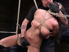 Awesome Daring Hog Tied Nymphomaniac Karlee Grey Is Worth Some Hard Onanism