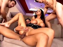 Divinely Charming Carmella Bing Has Been Dual Penetrated More Than Once