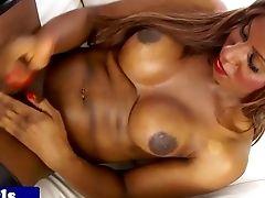 Black Transsexual Jizz Sopping