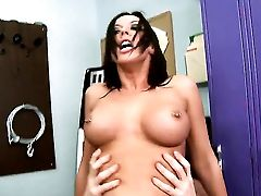 Brown-haired Rachel Starr With Tasty Hooters Finds Her Coochie Total Of Love Juice After Romp With Johnny Sins