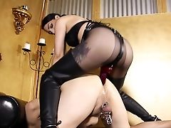 Submissive Ridden By Mistress With Spurs