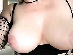Black-haired Samantha Bentley With Giant Tits And Clean Cunt And Her Hot Choky Ice Fuck Like Rabbits In Buttfuck Act Before She Gives Oral Job