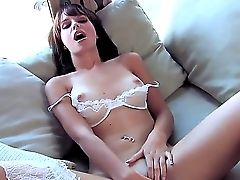 Arousing Hayden Winters Likes Pawing Her Fine Nub And Senses Intense Pleasure Doing That