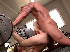Fucking The Gym Trainer And Guzzling Jizz
