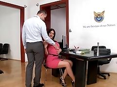 Assfuck At Work With Big-chested Kitana Lure