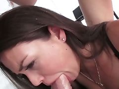 Lewd Honeys Allie Laugh At And Chanel Preston Pridefully Display Their Bj Abilities