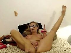Blonde Matures Educator Loves Frolicking All Fuck-holes
