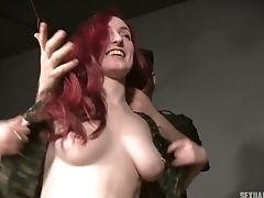 Crimson Haired Hooker Penny Lay Is Fucked And Disciplined By One Decadent Jack