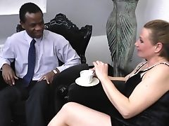 Prego Blonde Wants The Black Fellow To Explore Her Vaginal Insides