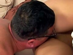 Amabella Is A Lovely Teenage Black-haired With Cock-squeezing Bald Muff