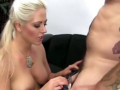 Blonde Hoe Holly Heart Sucking Massive Dick Deepthroat