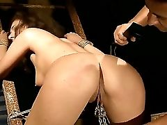 Sexy Whorey Bitch Patricia Fantasy Gets Tied And Taunted With Fucktoys Before Getting Pounded Hard