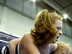 Hot And Horny Blondes Alice King And Daikiri Are Fighting For The Supremacy On The Ring