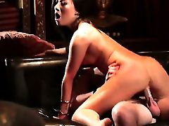 Asa Akira Has Superb Cock Blowing Practice And Widens It With Hard Cocked Bang Mate