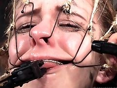 Decadent Hoe Simply Loves Her Some Super-naughty Bondage & Discipline Joy In The Cellar