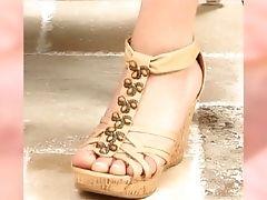 Aidra Fox {feet-tribute} {close-up's} {compilation} {hd}