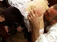 Maid Fucked In The Slit While Screaming