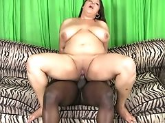 Bbw Lady Spice Gives Her Head And Gets Her Chubby Cootchie Banged By Horny Big Black Cock