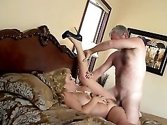Karen Summer Gets Her Mouth Attacked By Dudes Meaty Erect Shaft