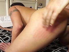Glad Huge-boobed Mummy Candi Cox Loves When Her Big Butt Is Opened Up Deep And Hard