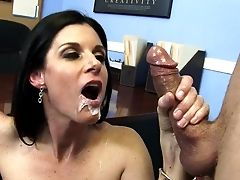 Nasty Office Porno With India Summer