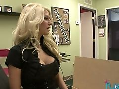 Met During Interview Lusty Lezzies Love Some Perverse Scissoring
