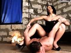 Supah Workouts Being Administered To Servant In Female Domination Domination & Submission