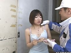 Bang-out Machine And A Few Dudes Fuck Tied Up Japanese Honey Shiori Natsumi
