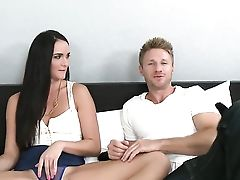 Tattooed Bianca Breeze Has Fire In Her Eyes As She Bangs Herself With Fuck-a-thon Plaything