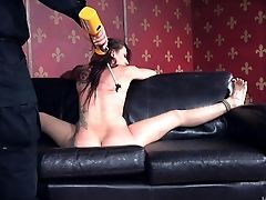 Mandy Muse Goes Thru The Rough Tying Torment Of Her Sweet Twat