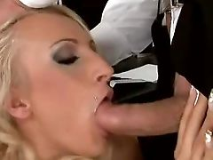 Bitchy Slender Blonde Hooker With Nice Natural Tits And Smoking