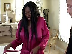 Hot Bodied Black Pornographic Star Nyomi Banxxx With Big Tits And